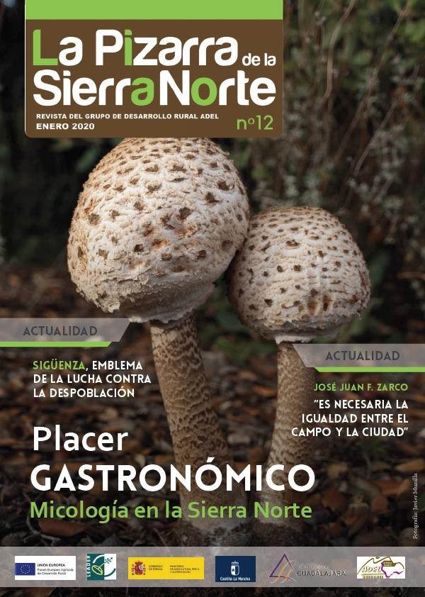 Portada Revista 12 La Pizarra de la Sierra Norte