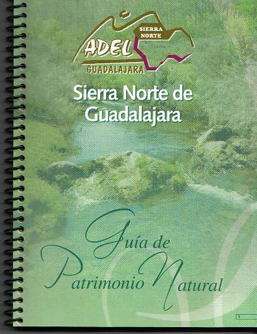 Portada de la Guia del Patrimonio Natural de la Sierra Norte de Guadalajara