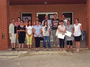 Foto de grupo alumnos del curso de Contabilidad en Jadraque