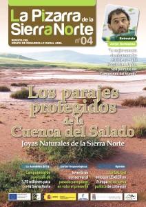 Portada del Numero 4 de la Revista La Pizarra de la Sierra Norte